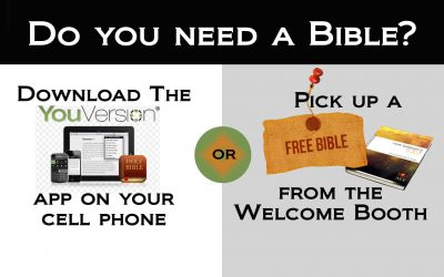 Do you need a Bible?